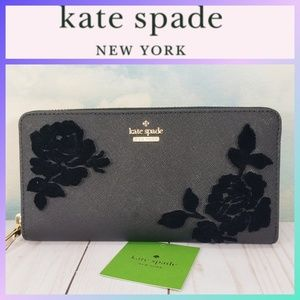 Kate Spade Cameron Street Flocked Roses Lacey